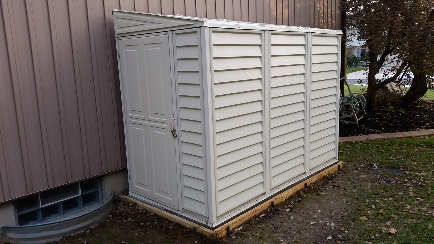 High Strength Sheds
