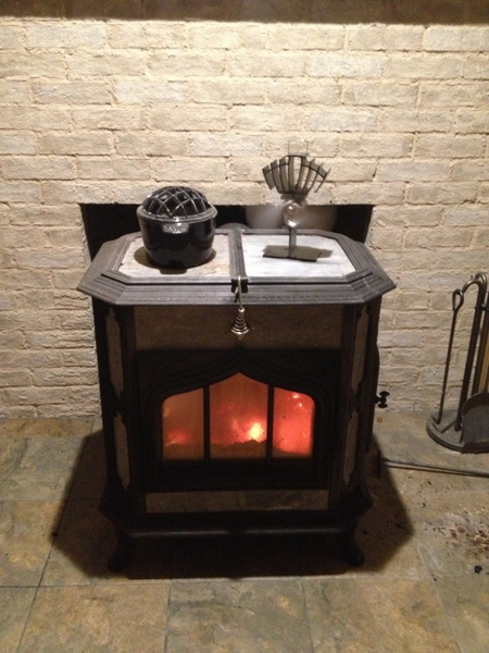 In addition to their practical function, Ecofans make a great stove accent and conversation piece.