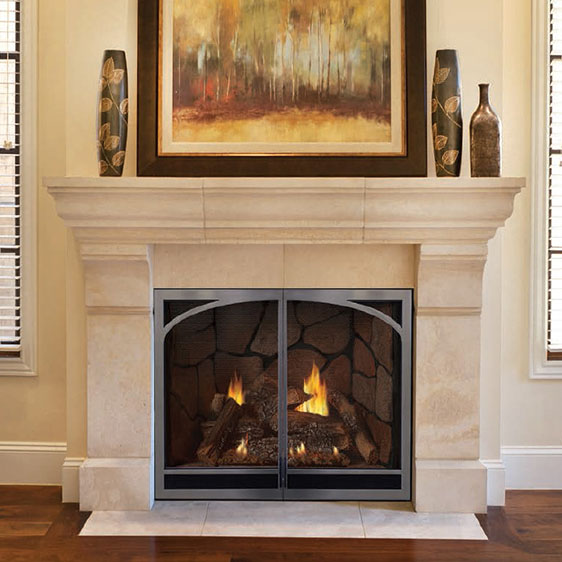 Empire Tahoe Luxury Direct Vent Fireplace image.