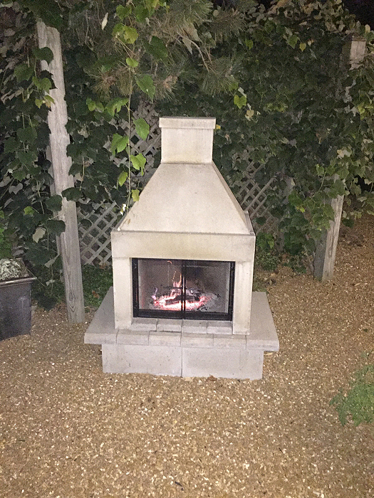 Outdoor Fireplace Kits